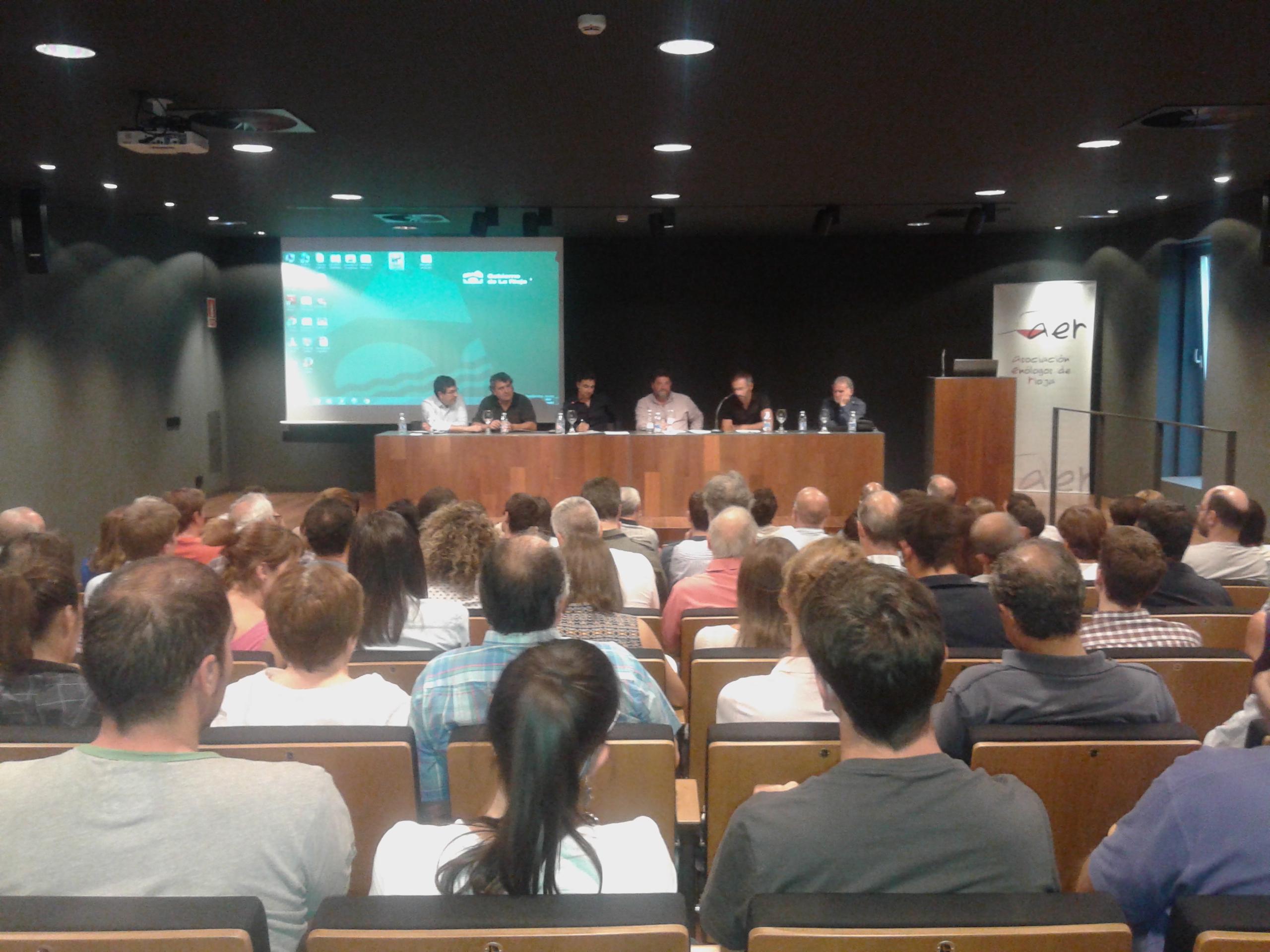 Foto Ponentes Jornada Blancos AER 03.09.15