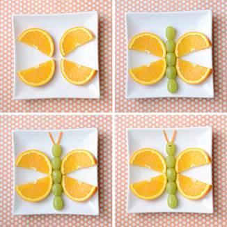 Mariposa De Frutas Pasos A Seguir