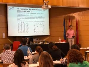 Cursos de Cata de Uvas: Metodología ICV (Navarra) @ EVENA